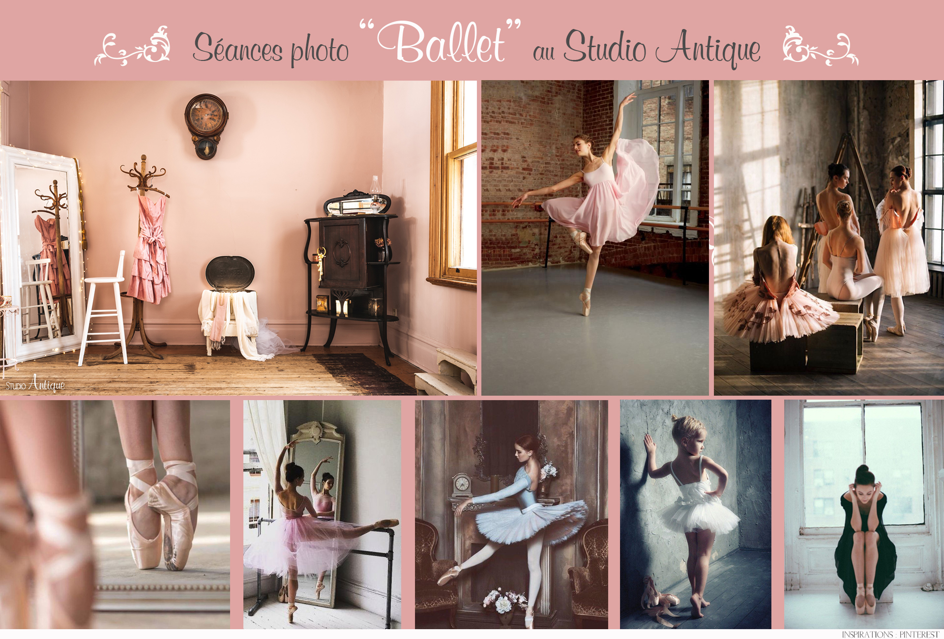 Moodboard Ballerine - Studio Antique